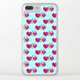 Heart Breaker Clear iPhone Case