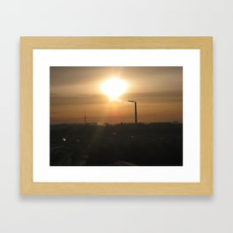From my window(2) Framed Art Print