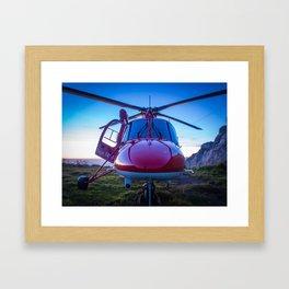 Air Rescue Framed Art Print