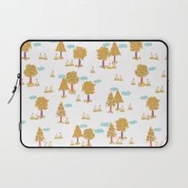 Butterfly Garden - Trees Laptop Sleeve