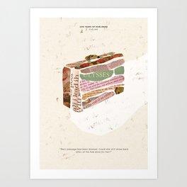 Eveline - 100 Years of Dubliners Art Print