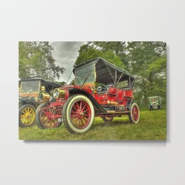 Stanley Steam Car Metal Print