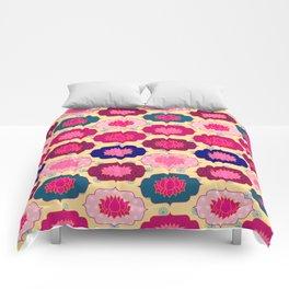 Lotus pattern Comforters