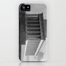 Construction of The Lincoln Memorial (1920) iPhone Case
