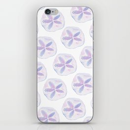 Mermaid Currency - Purple Sand Dollar iPhone Skin
