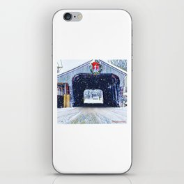 Vermont Covered Bridge Sugabush iPhone Skin