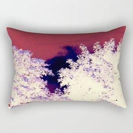 Red churche Rectangular Pillow