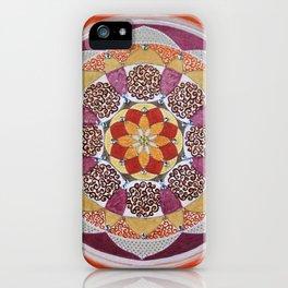 Sacral Fire Chakra Mandala iPhone Case