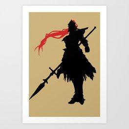 The Dragonslayer Art Print