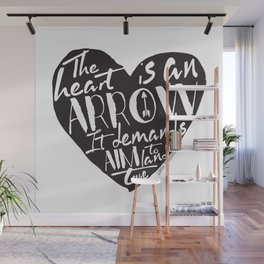 Heart is an Arrow - Six of Crows design Wall Mural