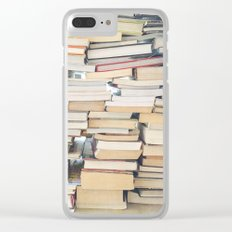 Books, Pages, Stories Clear iPhone Case