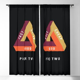 Pick Two Business Blackout Curtain
