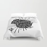 wisconsin Duvet Covers featuring Wisconsin Pride by Jessica Roush