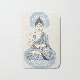Let Go Buddha Bath Mat