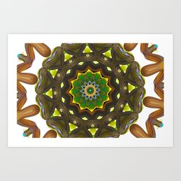 Radiate 005, Closer Art Print