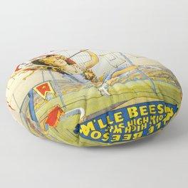 Vintage poster - Sells Floto Circus Floor Pillow