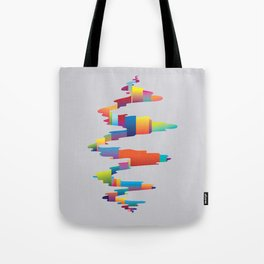 After the earthquake Tote Bag