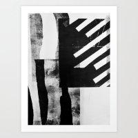 Monotype I Art Print