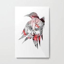 Raven's cloak Mirai Metal Print
