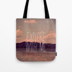 Explore With Me Tote Bag