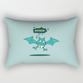 Bat Man Bat Rectangular Pillow