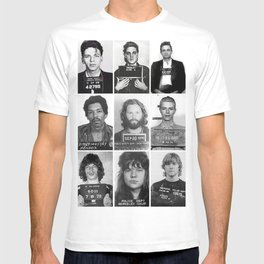 Rock and Roll Mug Shots T-shirt