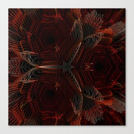 Abstract digital background Canvas Print