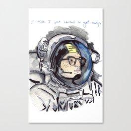 AstroMan Canvas Print