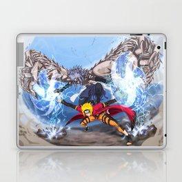 Sage Art : Spiraling Thunderstorm Shuriken Laptop & iPad Skin