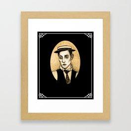 Buster Keaton Framed Art Print