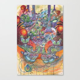 Machines Canvas Print