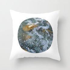 Planetary Bodies - Splash Throw Pillow