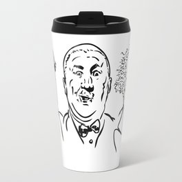 Stooges Moe, Curly and Larry Travel Mug