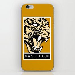 MASSILLON TIGER iPhone Skin