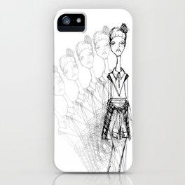 GrungeGirl. iPhone Case