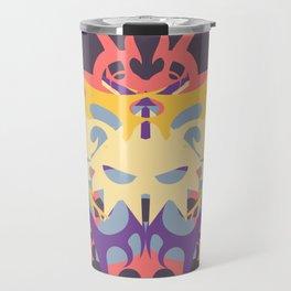Abstraction Twenty-Six Baku Travel Mug