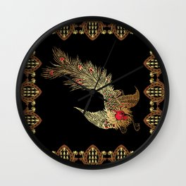 Graphic patterns Wall Clock