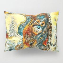 AnimalArt_OrangUtan_20170605_by_JAMColorsSpecial Pillow Sham