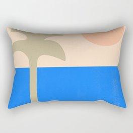 abstract paradise 4 Rectangular Pillow