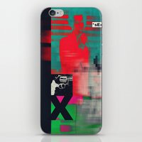 sex and the city iPhone & iPod Skins featuring Sex by Alec Goss