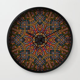 Knotted Past Wall Clock