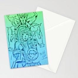 Gazes Of Destruction Stationery Cards