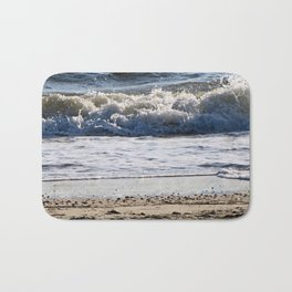 Cape May Beach New Jersey By Annie Zeno Bath Mat
