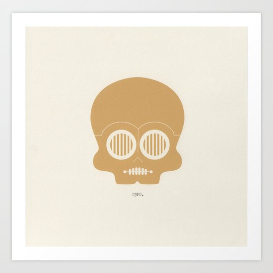 This is the droid you're looking for. Art Print