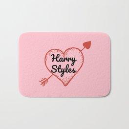 HARRY STYLES LOVE HEART Bath Mat