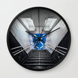 Symmetry of NYC subway Wall Clock