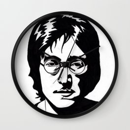A Working Class Hero Is Something To Be Wall Clock
