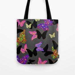 The Unseen Butterflies Tote Bag
