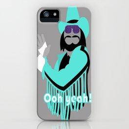Macho iPhone Case