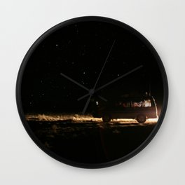 WE WENT TO THE SPACE Wall Clock